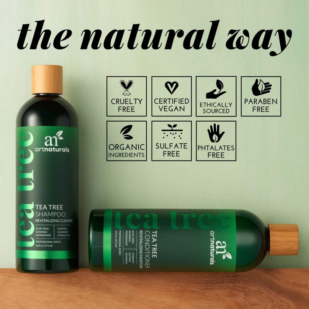 Balsamo + shampoo Art Naturals Tea Tree Oil