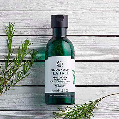 Tea Tree Skin Clearing Foaming Cleanser the body shop